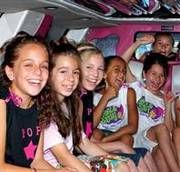 Girls Partying In a Limo
