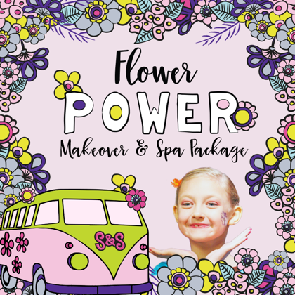 Flower Power Makeover and Spa Package