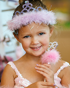 Princess Birthday Party | Spa & Salon for Kids