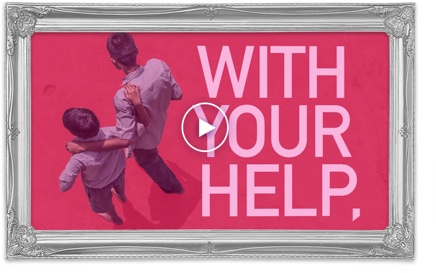 With Your Help Video Frame